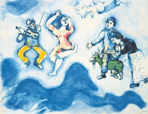 The Fellowship of Charlot, 1939 by Marc Chagall