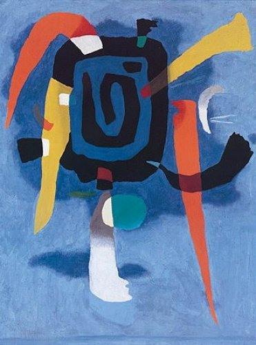 Bluxao V, 1955 by Willi Baumeister