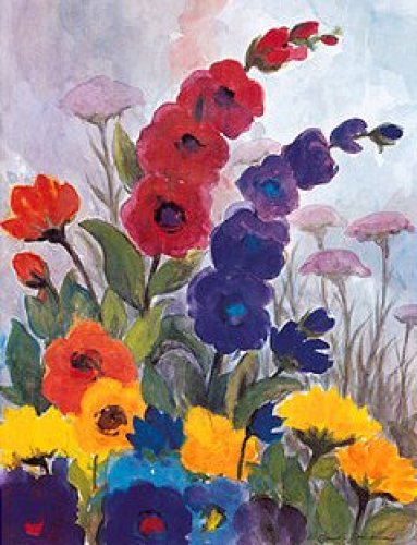 Nolde Garten I by Eleonore Baur-Brinkman