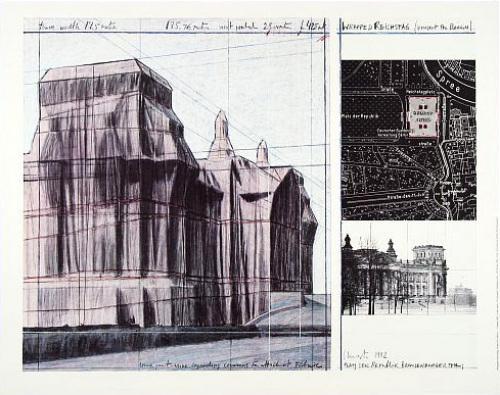 Reichstag I by Javacheff Christo