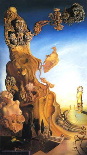 Imperial Monument by Salvador Dali