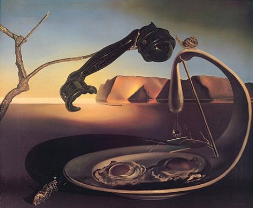 The Sublime Moment by Salvador Dali
