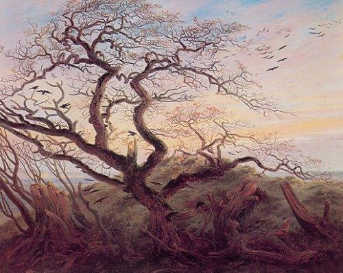 Rabenbaum by Caspar David Friedrich