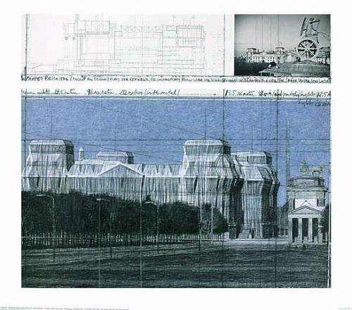 Reichstag III by Javacheff Christo