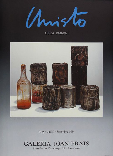 Wrapped Cans, Joan Prats (1991) by Javacheff Christo