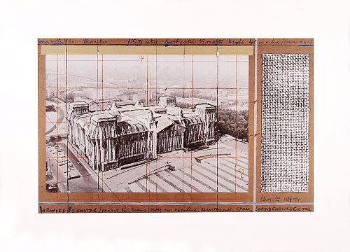 Reichstag X by Javacheff Christo