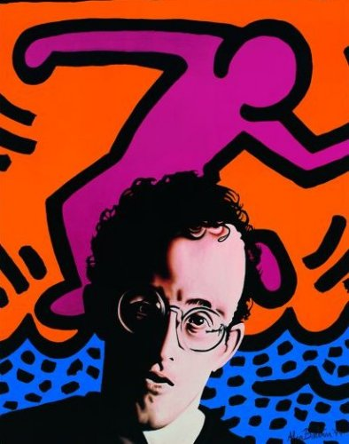 Hommage to Keith Haring by Alan Bortman