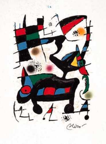Oda, 1973 by Joan Miro