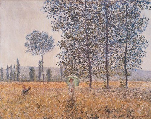 Fields In Spring by Claude Monet