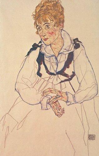 Frau des Künstlers by Egon Schiele