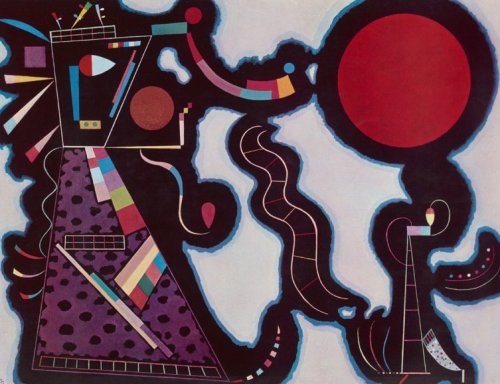 Red Circle by Wassily Kandinsky
