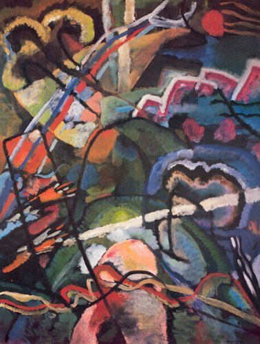 Composition Storm by Wassily Kandinsky
