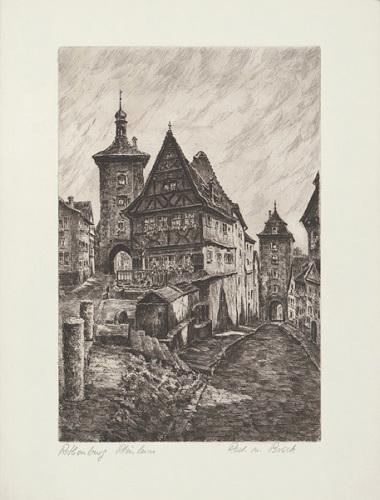 Rothenburg, Rödertor by Zwicker