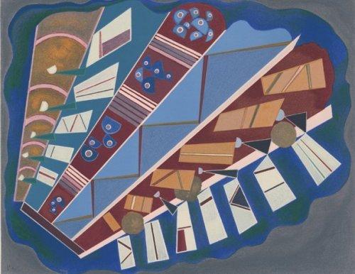 Mit- und Aufeinander by Wassily Kandinsky