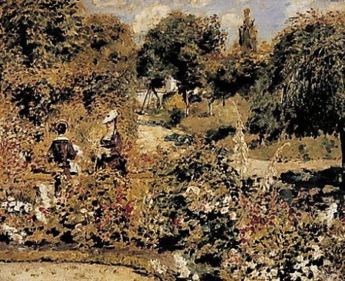 Garden at Fontenay by Pierre Auguste Renoir