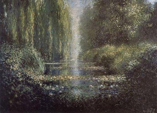Wasserlandschaft by Lutz Münzfeld