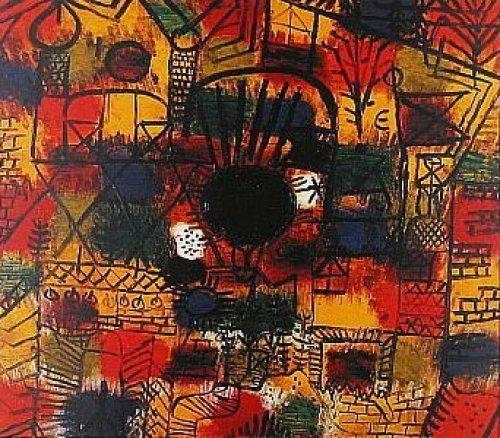 Schwarzer Brennpunkt by Paul Klee