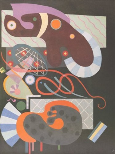 Red Bow by Wassily Kandinsky