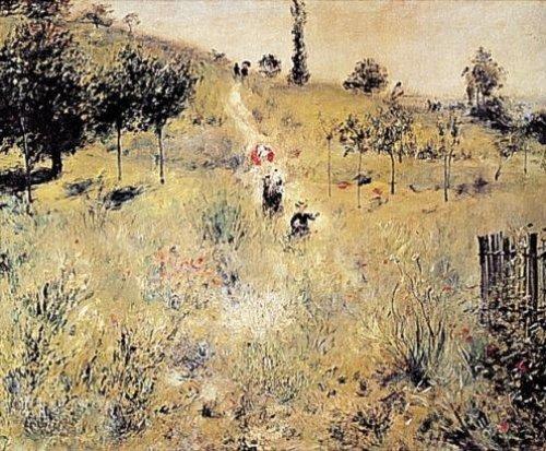 Ascending Path in Green by Pierre Auguste Renoir