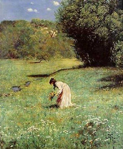 Waldwiese by Hans Thoma