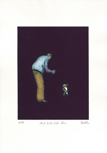Mach-bitte-bitte-Blues by Bernd Baldus