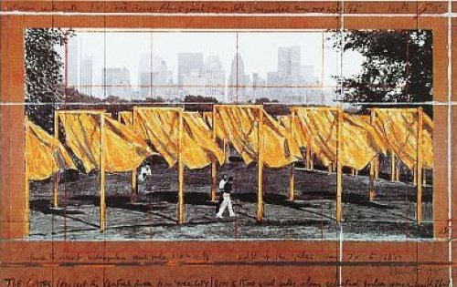 The Gates II (1995) by Javacheff Christo
