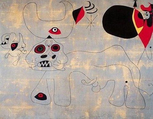 Bullfighting by Joan Miro