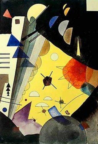 High Voltage, 1924 by Wassily Kandinsky