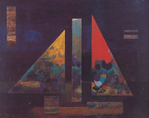 Scharfes Heiss (1927) by Wassily Kandinsky
