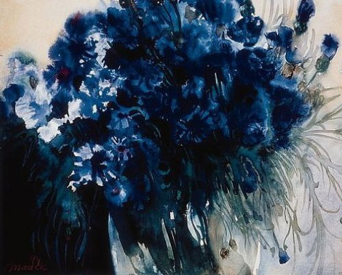 Kornblumen by Gisela Maack