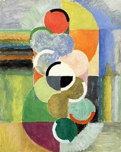 Rhythme sans Fin (1930) by Robert Delaunay