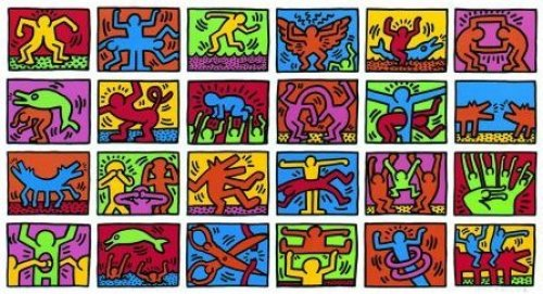 Retrospective (1989) by Keith Haring