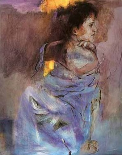 Odalisque in Green by Christine Comyn
