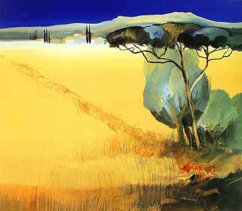 Tuscany Blue II by Juliane Jahn