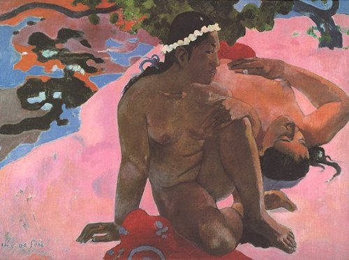 Its as if You're Jealous by Paul Gauguin