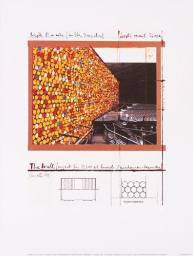 The Wall Nr. I (Oberhausen) by Javacheff Christo