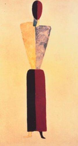 Das Mädchen by Kazimir Malevich