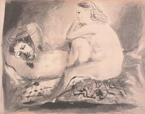 Sleeping, 1942 by Pablo Picasso