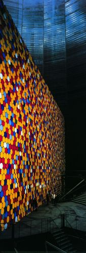 The Wall Nr. 4 (Oberhausen) by Javacheff Christo