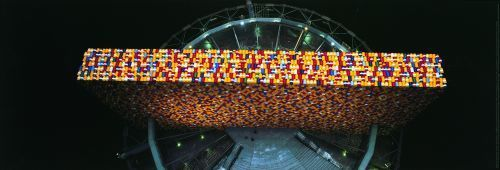 The Wall Nr. 5 (Oberhausen) by Javacheff Christo
