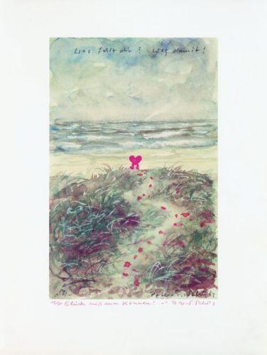 Herz am Strand (A la Mère) by Peter-T. Schulz