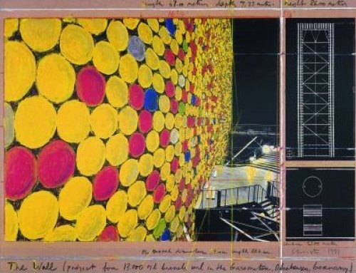 The Wall Nr. IV (1999) by Javacheff Christo
