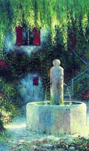 Dorfbrunnen by Lutz Münzfeld