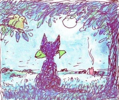 Der glückliche Kater by Peter-T. Schulz
