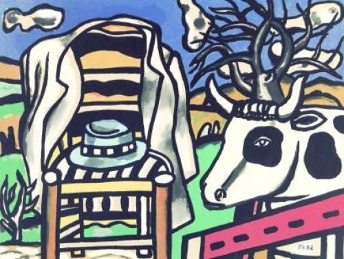 La Chaise (1952) by Fernand Leger