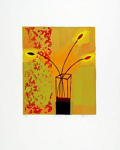 Yellow Glass Vase (2000) by Russell Baker