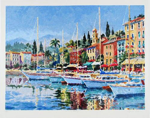 Harbour Morning III (2000) by Hazel Soan