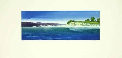 Steilküste (2001) by Henryk Fiset