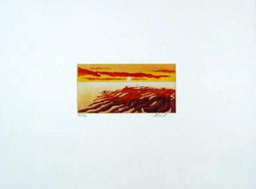 Sonnenuntergang (2001) by Henryk Fiset