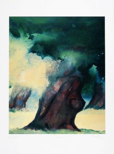 Baum I (2001) by Hans Richter